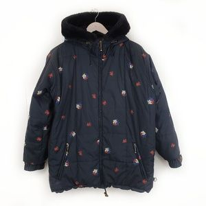 Obermeyer Thermalite Black Floral Jacket Coat